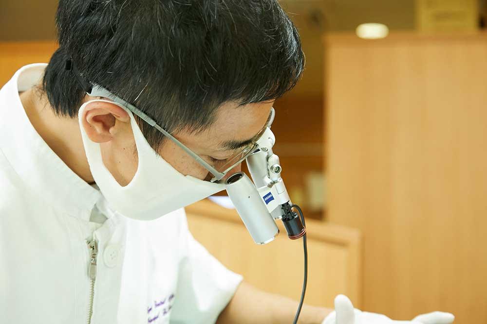 歯科拡大鏡の性能
